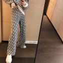dior ニットセットアップレディース ニット ワンとパンツ セットアップ秋冬 ディオール OBLIQUE Vネックセーター上品 カジュアル