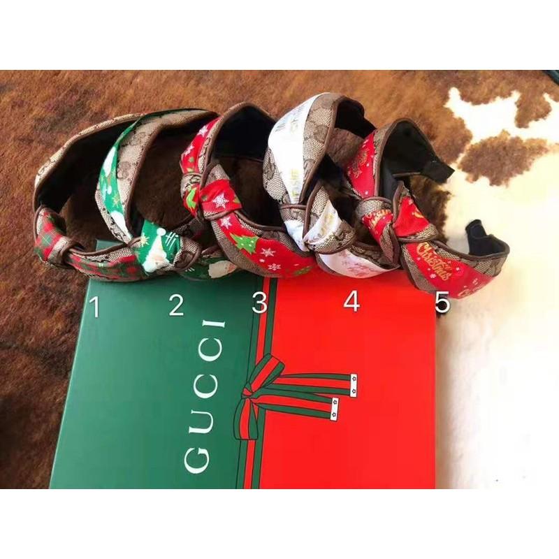 クリスマス ヘッドバンド GUCCI ヘアアクセサリー レディース ファッション 小物 おしゃれ ヘアバンド ブランド グッチ 髪飾り カチューシャ Christmas デコレーション カチューシャ 高品質
