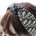 Dior ディオール ブランド ヘアアクセサリー 立体 花を編む エッジング ヘアバンド カチューシャ 可愛い 女性 髪 留め おしゃれ 小物類 幅広 カチューシャ レディース ファッション
