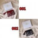財布 Dior ウォレット 折り畳み財布 カードケース 女性 革製 ミニ財布 ディオールロゴ ジャカード 送料無料 ブランドコピー 小財布 コンパクト デザイン コインケース 激安