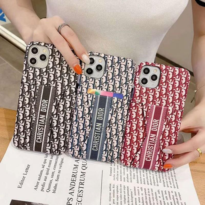ブランドディオール オブリークiphone12/11pro max 12 pro/12 miniケース 男性女性向け ペアお揃いカード入れ iphone 12/xr/xs maxケースアイフォン12カバー レディース ブランド