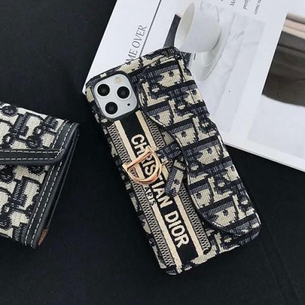 Dior スマホアクセサリー iPhone スマホケース ディオール iPhoneX/XS ケース 保存ボックス ケアカード iPhone 11 Pro Max カード収納型 ハードケース ファッション オシャレ レディース