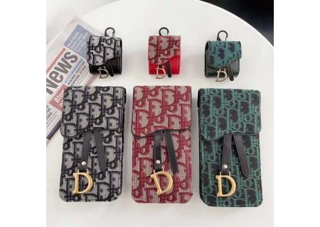 ブランド Dior iPhone 13 オブリーク柄 ディオール Galaxy s21 ショルダーバッグ型