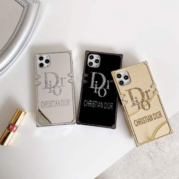 ディオール ブランド iPhone11/12 ケース 高級感 iPhone7/8/XR ケース DIOR メンズ iPhoneケース レディース スマホケース 耐衝撃 おしゃれ iPhone XS/Xケース カップル iPhone SE2 アイフォンケース 送料無料