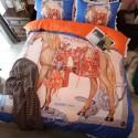スーパーコピーブランド Diorディオール寝具 ルイヴィトングッチシャネル vercase エルメス バーバリー  Dior 寝具カバーセット ディオール 高級 ベットカバー4点 セット