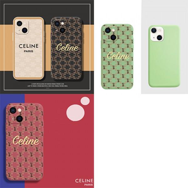 セリーヌ iPhone13/13pro maxケース Celine ブランド ジャケット型 シリコン製 アイフォン13pro/12pro maxソフトケース シンプル風 耐衝撃 iphone11/11 proフルーカバー