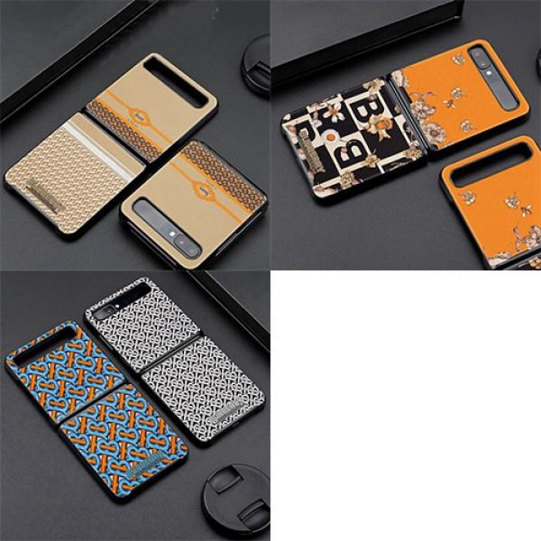 高品質 高級感 折畳みスマホケース Galaxy Z Flipブランド バーバリー 男女兼用 ギャラクシーZ Flipケース 携帯カバー Burberry galaxy zflipケース マット シック