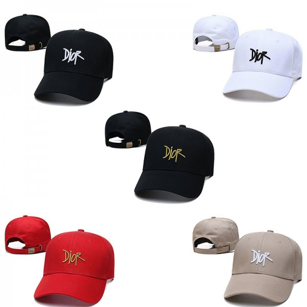 刺繡ロゴ DIOR OBLIQUE ディオール キャップ 帽子 オム ブランド メンズ レディース シンプル 純正 五色 ファッション 人気 キャップ 帽子 ブランドコピー