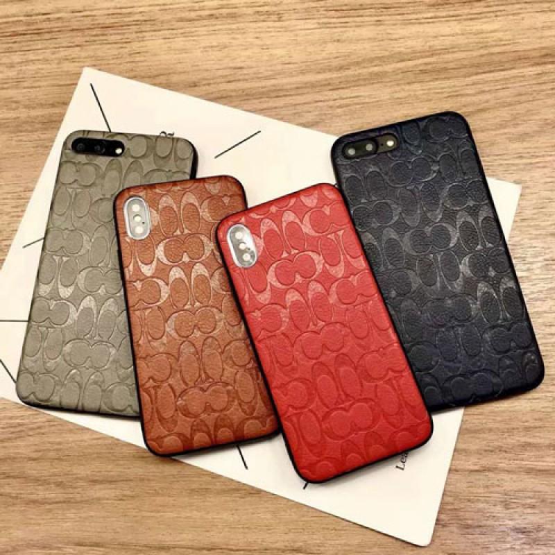 コーチ iphone12/12mini/12pro max/12/11ケース レザー風 galaxy S21/s20/s20+/note20 Coach 凹み モノグラム柄 スマホケース 激安 galaxy s10/s9+/note10/note9ケース ブランド アイフォンx/xs/xr/8/7 plus/6カバー ジャケット型 huawei p40/mate40 メンズ レディース