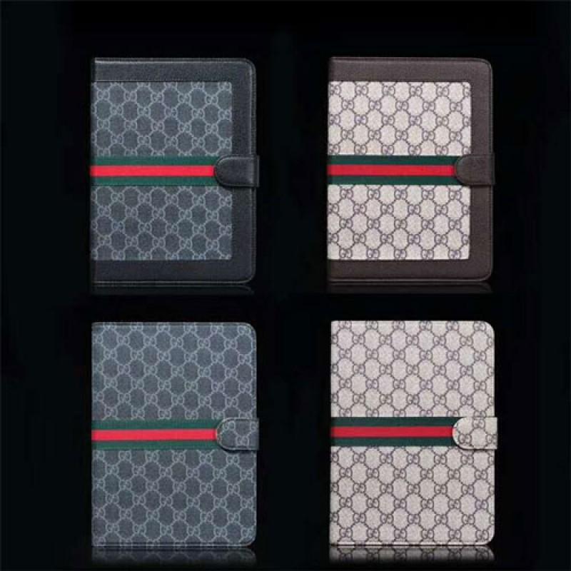 グッチ ipad pro 2021/air4 8/7 12.9 インチケース 激安 ブランド ipad pro10.5/Air3ケース Gucci 高級 ipad 2/3/4/5/6ケース 2020 保護 ipad mini 1/2/3ケース スタンド機能 ipad mini 4/5カバー ファッション メンズ レディース