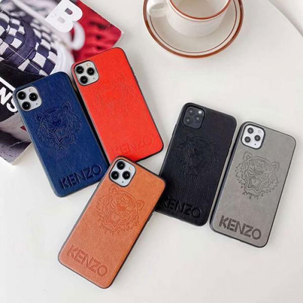 ケンゾー Galaxy s21+/S21 ULTRA/S20/s10+/NOTE20ケース ブランド レザー風 個性潮 iphone 13/12/12 mini/12 pro/12 pro max/11 Pro maxケース ビジネス iphone x/xr/xs/xs maxケース 虎頭柄 KENZO ファッション ジャケット型 iphone x/8/7 plusケース 大人気 メンズ レディース