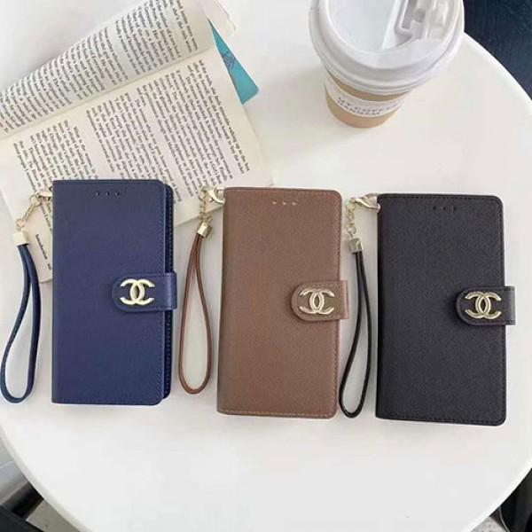 Chanel 全機種対応 iphone12 mini/12 pro max/11 pro maxケース 手帳型 galaxy s21/s20/note20/A51 シャネル 女性向け  モノグラム xperia1Ⅲ/10Ⅲ/5iiケース レザー 個性 ストランプ付 AQUOS sense4/4 plus/zero5G basicカバー 経典 メンズ ファッション ins風 huawei アイフォン かわいい レディース