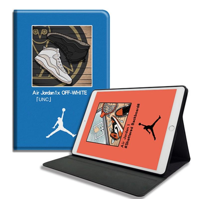 Jordan ipad pro 2021/air4 mini 4/5カバー アイパッドエア1/2/ケース Supreme 横開き Off-White ipad 8 10.2インチ 激安 すべてのipad機種対応 モノグラム ダミエ アイパッド 手帳型ブラント iPad Air 10.5インチケース  コピー