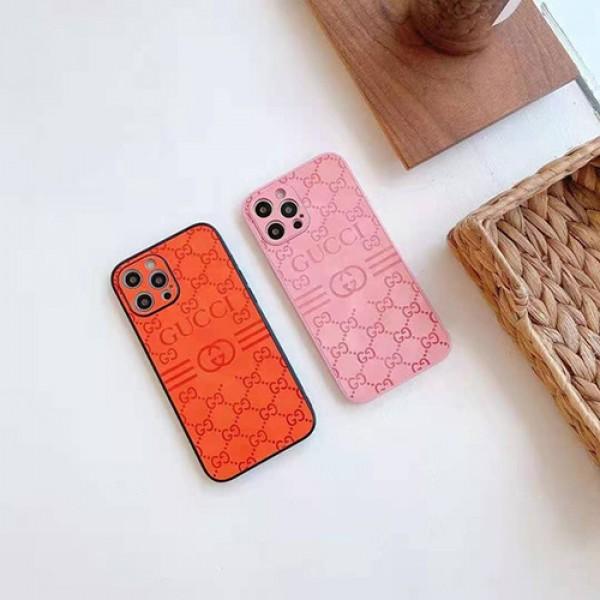 グッチ iPhone13pro/12spro maxシリコンケース ブランド 立体プリント アイフォン12S/12/13 pro maxスマホカバー 可愛い 女子 iphone11pro/11pro maxケース