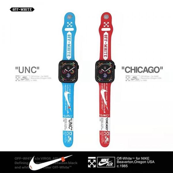 Nikeコラボ Apple Watch 6/5/4/3ベルト 交換用スポーツ風アップルウォッチ6/Se 2020 バンド ブランド レディース男女通用高級Apple Watch 6/5/4/3ブランドバンド革型