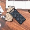 lv/ルイヴィトン Galaxy zflip折畳みケース シンプル ブランド ビジネス風 グッチ GalaxyZ Flipケース カバー 男女通用 高品質 メンズレディース ギャラクシーZ Flip携帯カバー モノグラム