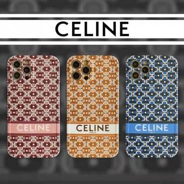 セリーヌ iphone se2/12/13 pro maxカバー 革製 可愛い ブランド風 Celine パロディケース iphone 11/8/xs maxケース 男女 ペアお揃い 芸能人愛用 可愛い