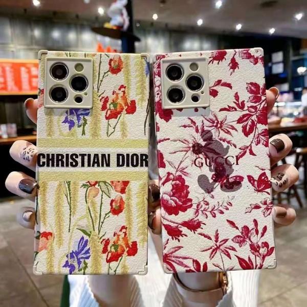 Dior/ディオール 可愛いブランド風パロディケースiphone 11/12 mini/xs maxケースストラップ付大人気 携帯ケース多機能ブランドスマホケース