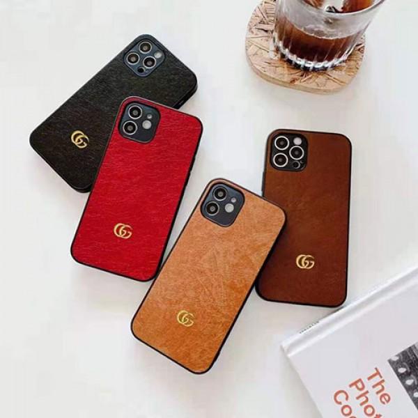 グッチ ブランド iphone12 mini/12pro max/12 max/12  proケース かわいいアイフォンiphonex/8/7 plusケース ファッション経典  iphone11/11pro maxケース 安いジャケット型 2020 iphone12ケース 高級 人気