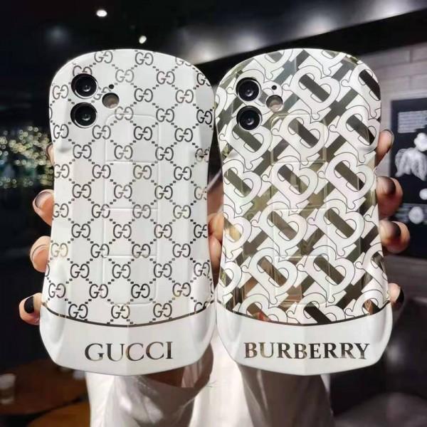 LV Gucci iphone12 mini/12 pro maxケースハイブランド Loewe Burberry Celine iphone se2/xs maxカバー Givenchy chanel シリコン製 男女 ペアお揃いバッグ型