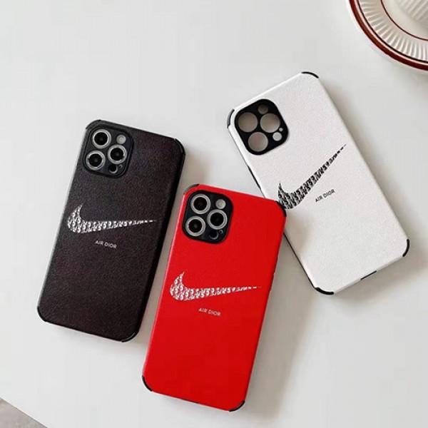 ディオール ブランド iphone xr/12/12pro maxケース男女兼用 人気 ナイキ ブランドiphone11/11pro max/se2ケース かわいい個性潮 ファッション ジャケット型 2020 iphone xs/x/8/7ケース ins風 高級 人気モノグラム