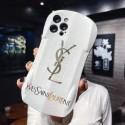 YSL/イブサンローラン iphone se2/12/13 pro maxカバー 革製芸能人愛用可愛い アイフォン13/12/11/x/xs/xr/8/7カバー大人気 携帯ケース多機能ブランドスマホケース
