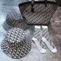 Dior 新作 ディオール オブリーク ソックス コットンオシャレディオール 靴下 一点セット  コットン製 通気性よい お洒落モノグラム 快適 ins 潮流ファッション 女性向け