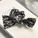 ディオール オブリーク ヘアゴム DIOR カチューシャ ヘアバンド 髪リボン シンプル 布製 dior ヘアアクセサリー ハイブランド ファッション レディース