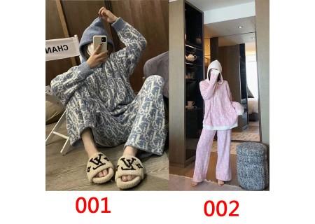 ディオールDior オブリークパーカー  とふわふわルームウェアセットアップパジャマ