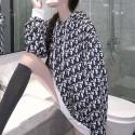 ディオール Dior Oblique パーカー オブリーク ブランド服 秋春プルオーバー フード付き パーカー ブラック レディース ファッションコピー