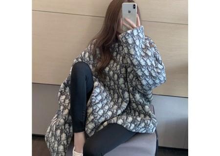Dior ブランド激安パーカーとセーター オーバーサイズふわふわ