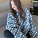 Dior オーバーサイズパーカー ふわふわ もこもこディオールブランドコピー服冬春秋激安レディースファッショントップス