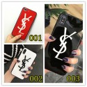 YSL iPhone 12/12 pro max xperia 5/1/10 iii ケース galaxy s10/s20+ huawei p30 iPhone xs/xs plus/xr/11 proケース イヴサンローラン Iphone x/8/7 plusスマホケース galaxys20/s9/s10 plusケースブランド Iphone6/6s Plus Iphone 11 pro max/6/6s/se2カバー ジャケット 簡約 アクリル製