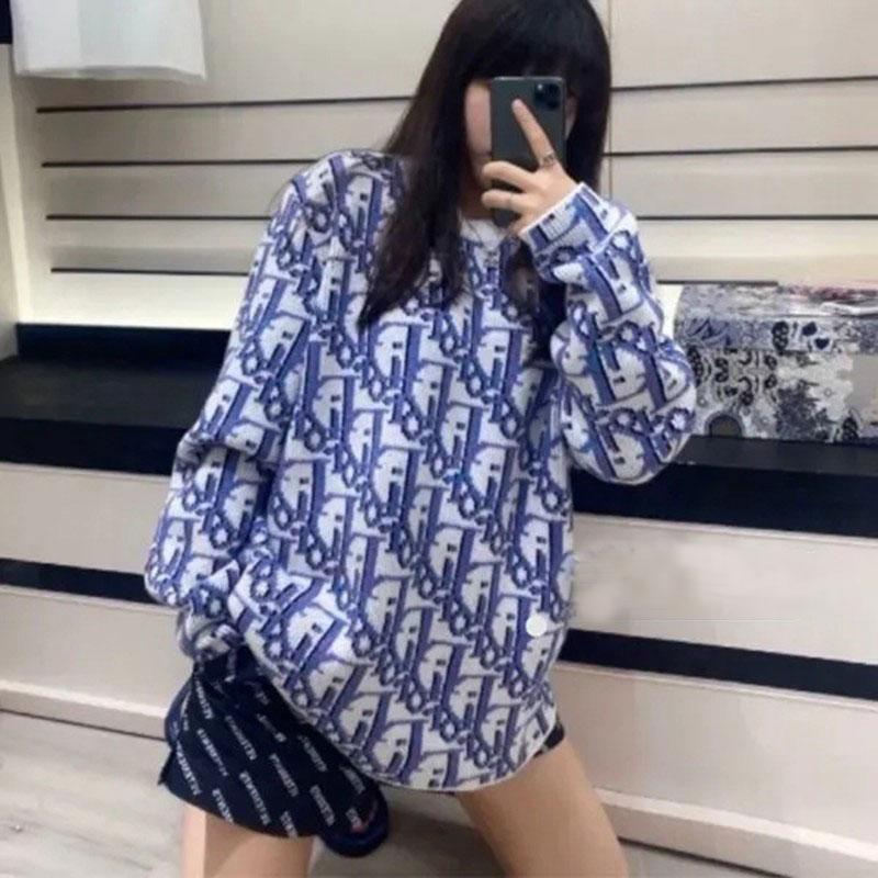 Dior Oblique ウール ジャガード セーター 20AW
