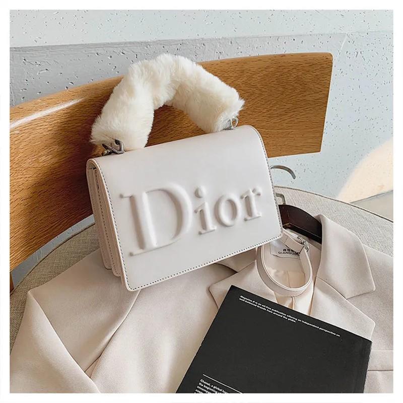 dior ふわふわバッグディオール手提げバッグ