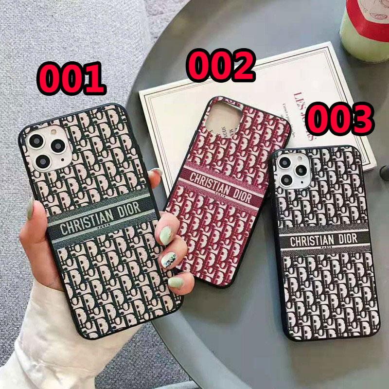 dior iphone12/12 mini/12 pro maxケース オブリーク