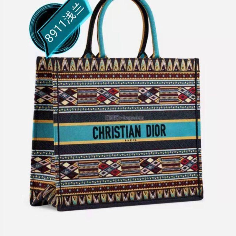 Diorキャンバスブックトートバッグ 大容量