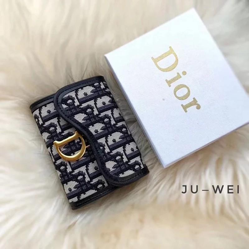 クラシック キャンバス DIOR 財布 カードケース レトロ