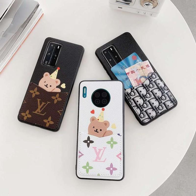 ブランド女子男子カード入れ ペアお揃い アイフォン12 pro/12 pro maxカバー