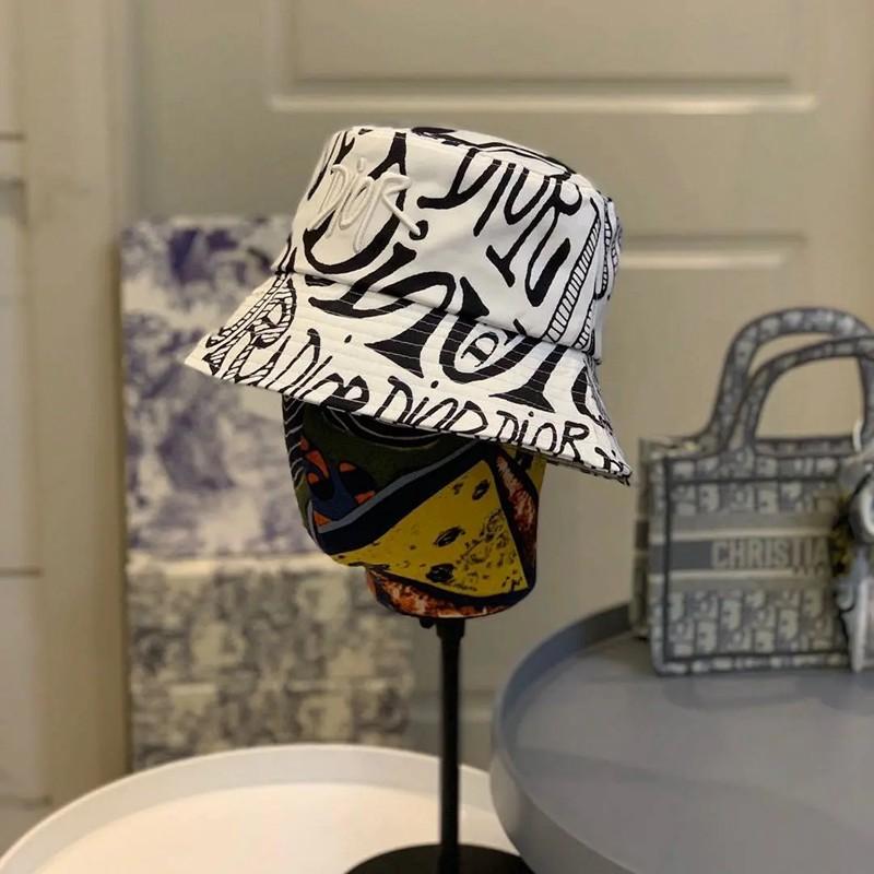 Dior/ディオール 春夏 帽 動物シリーズ 漁師帽子 レトロカジュアル