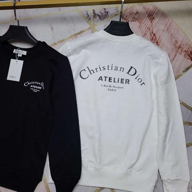 Dior ディオールトップス パーカー 純綿 クルーネック セーター