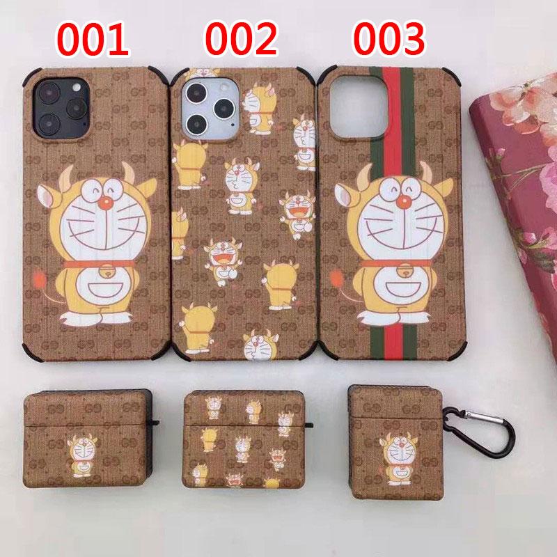 グッチ ブランド DORAEMON iphone 12 ケース
