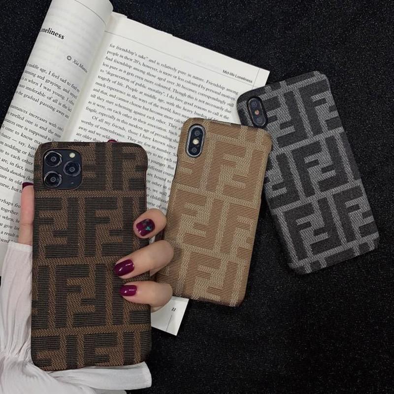 フェンディ 刺繍風 Galaxy S21/S21+/S21 ultra/s20/s20+/s20 ultra/s10/note20/note10ケース シンプル モノグラム 布製 iPhonei12 pro/12 mini/12 pro max/11 FENDI ブランド 携帯カバー ジャケット型