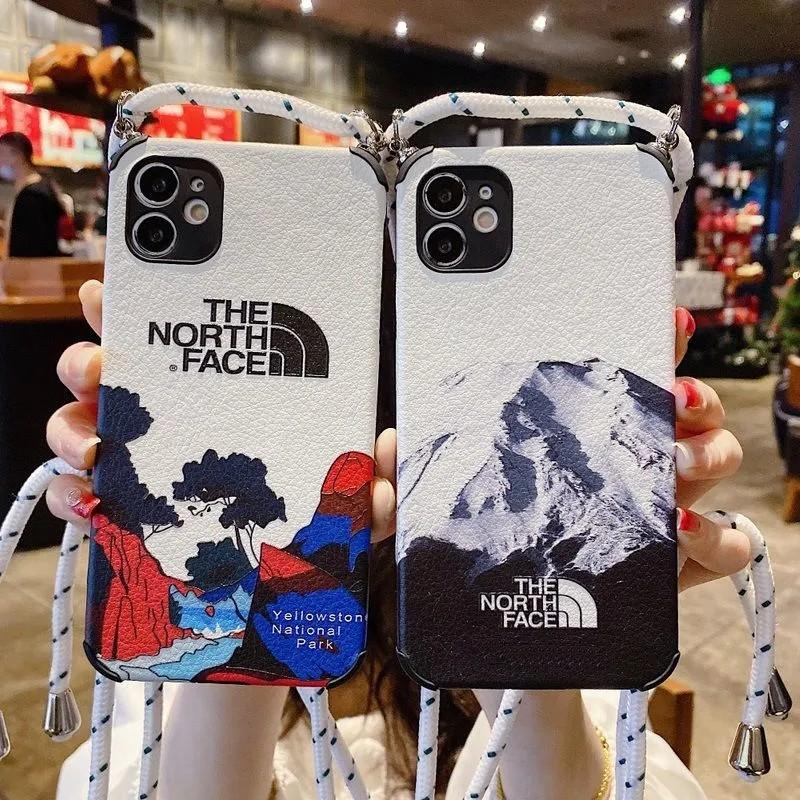 ザ.ノース.フェイス シュプリーム コンボ ブランド Galaxy s21/s21 plus/s21 ultra/s20 ultra/s10/note20/note10ケース レザー ストランプ付き 雪山柄 Supreme The North Face イエローストーン国立公園 iphone 12 pro/12 pro max/12 mini/11